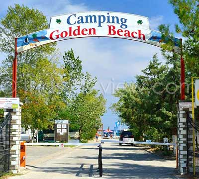 Golden Beach Camping, Θάσος
