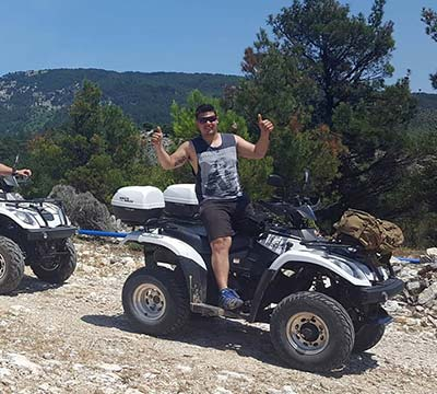 Adventure Tours by Mikes Bikes, Θάσος