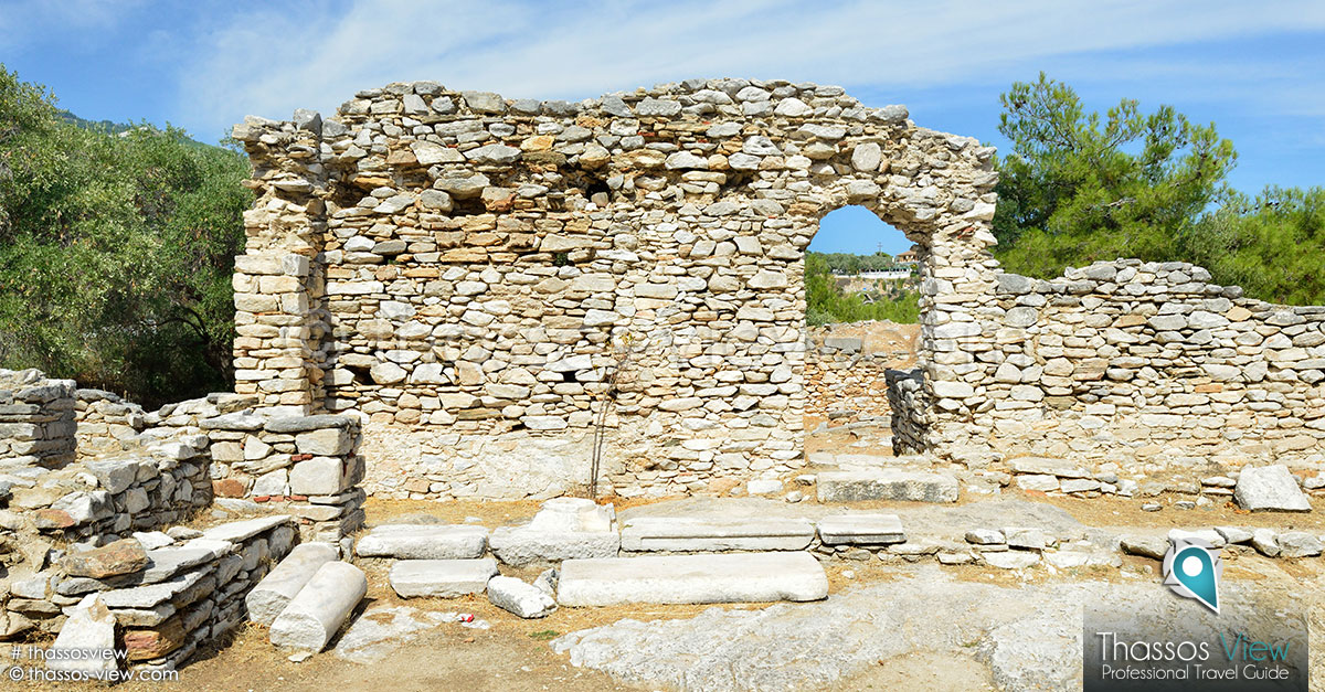 Aliki Archaeological Site, Thassos