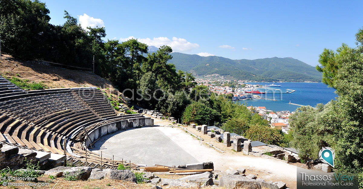 Ancient Theater, Thassos