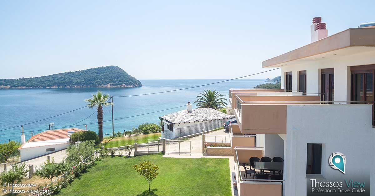 Efis Reginas Sea View Apartments, Thassos