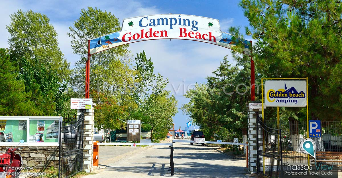 Golden Beach Camping, Thassos