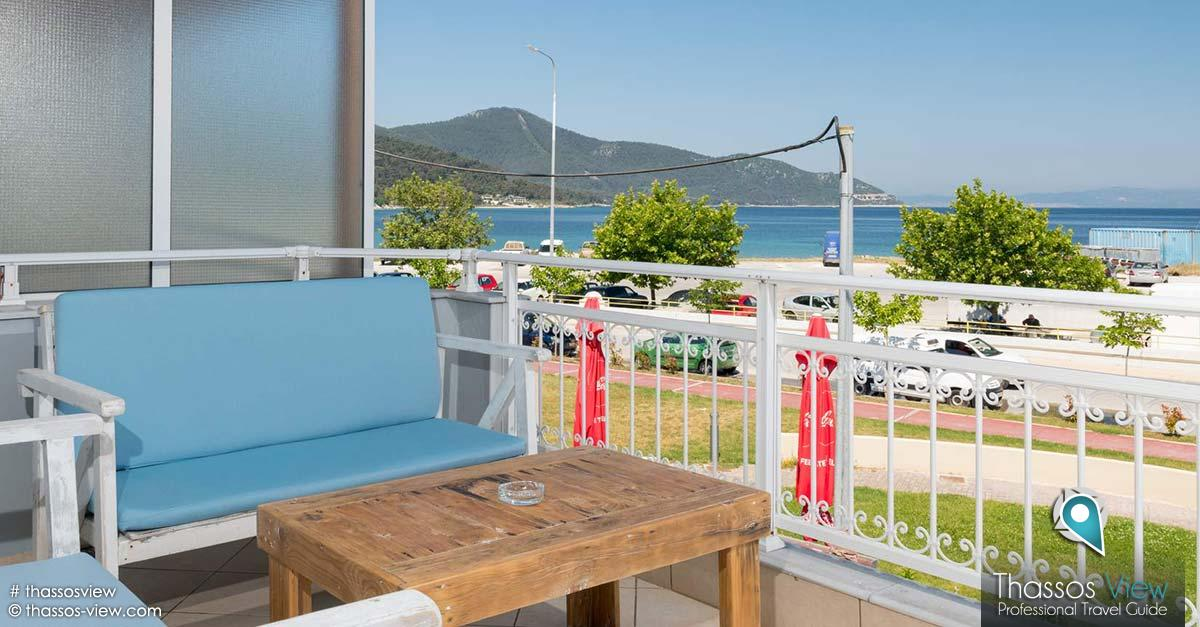 Karnagios Sea View Apartments, Thassos