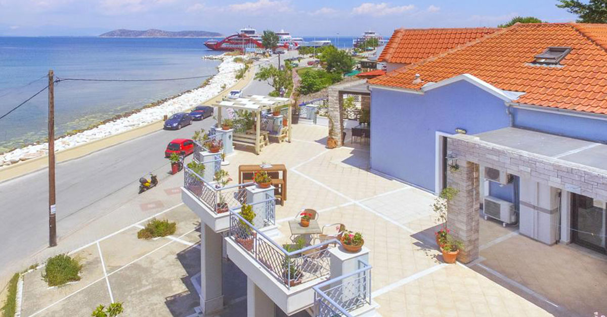 Linas Sea View Apartments, Thassos
