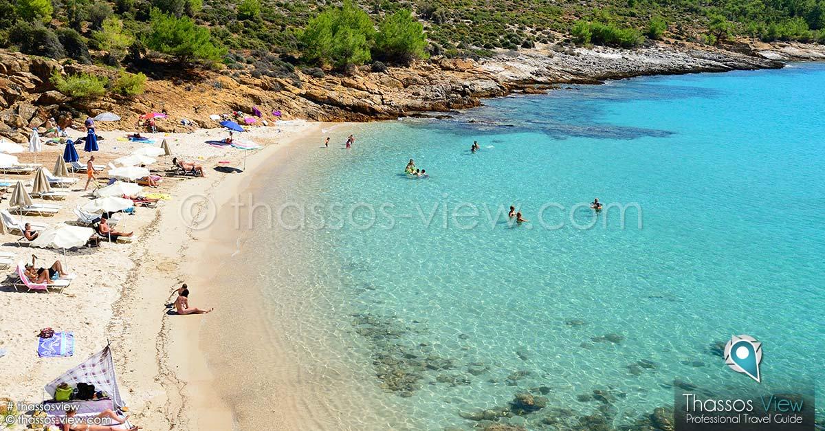 Notos Beach Thassos Beaches