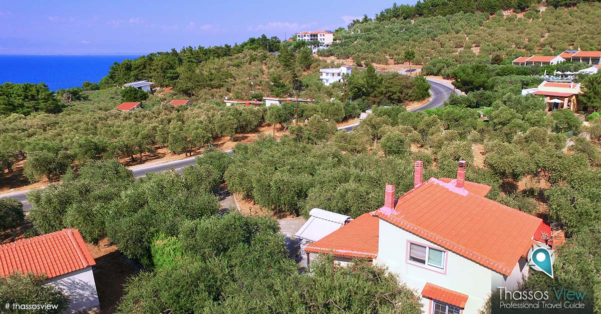Olive Tree House, Thassos