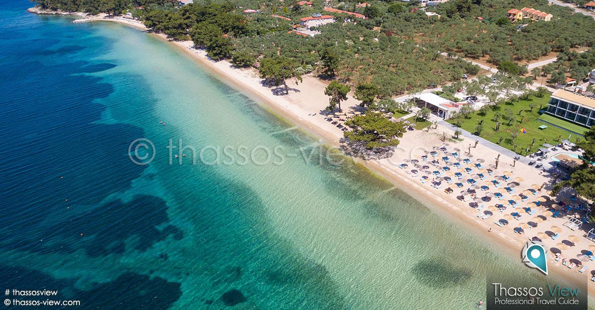 Pachis Beach Thassos Beaches