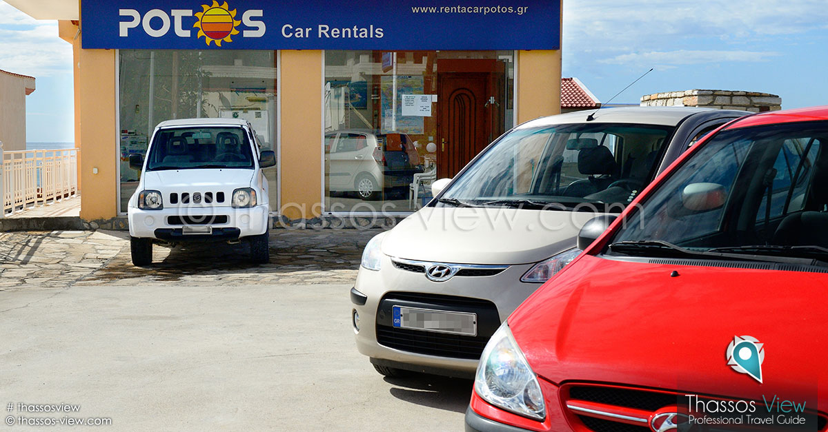 Potos Car Rentals, Thassos
