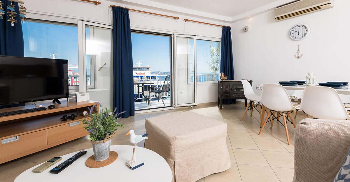 Promenade Sea View Apartment, Θάσος