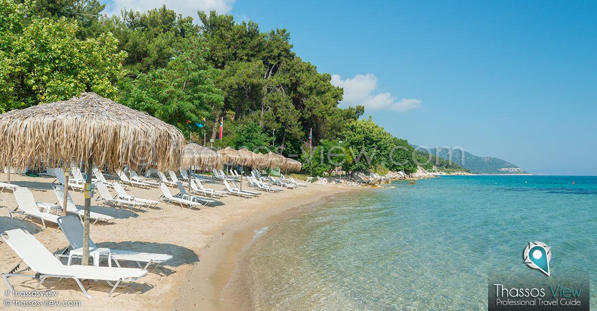 Tarsanas Beach Thassos Beaches