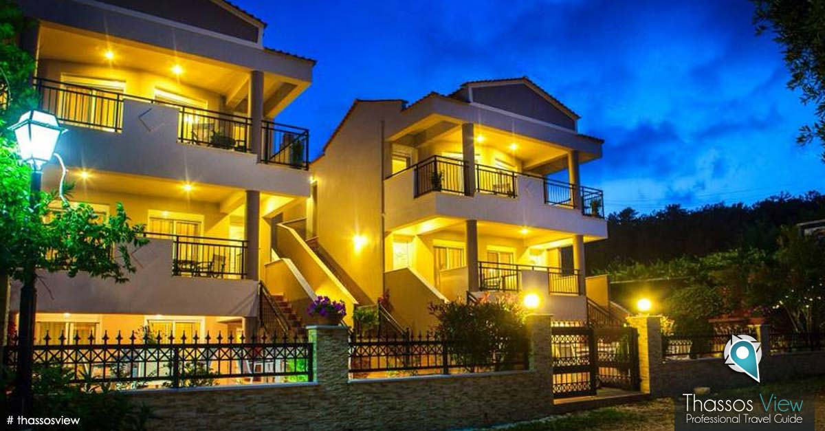 Teresa Luxury Suites, Thassos