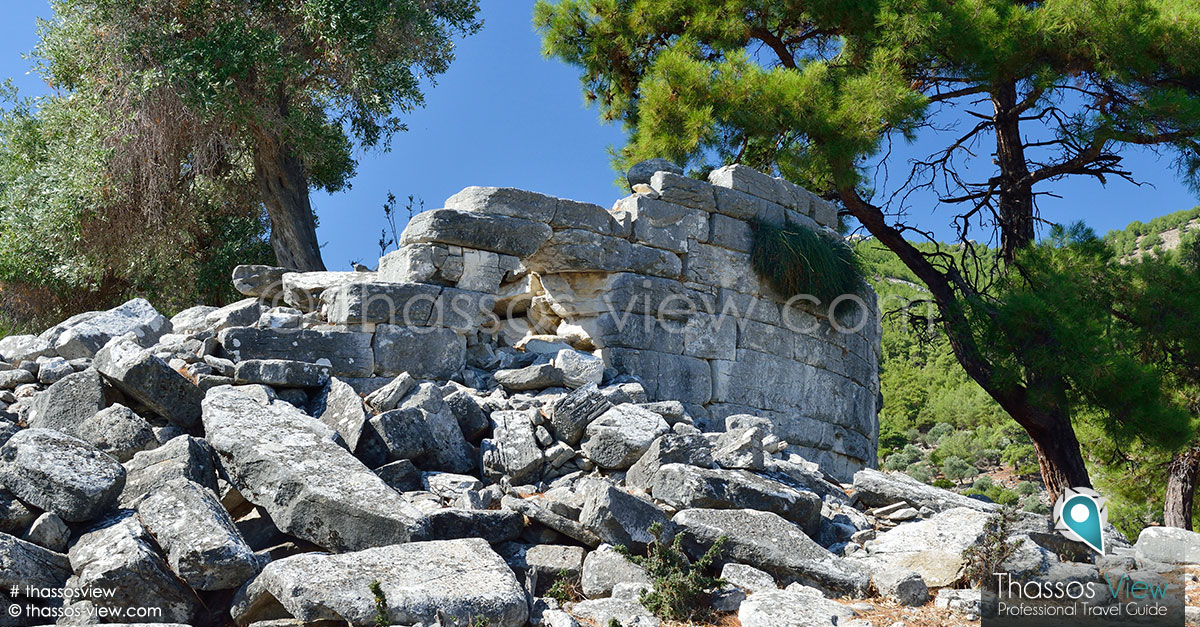 Thimonia Tower, Thassos